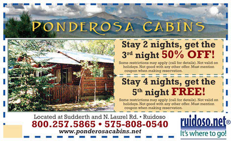 Lodges And Cabin Operations Ruidoso Nm Vacation Guide