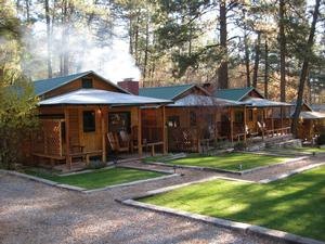 cabins ruidoso front cabin sandoval private whispering breeze vacation pines s home utopia of nm