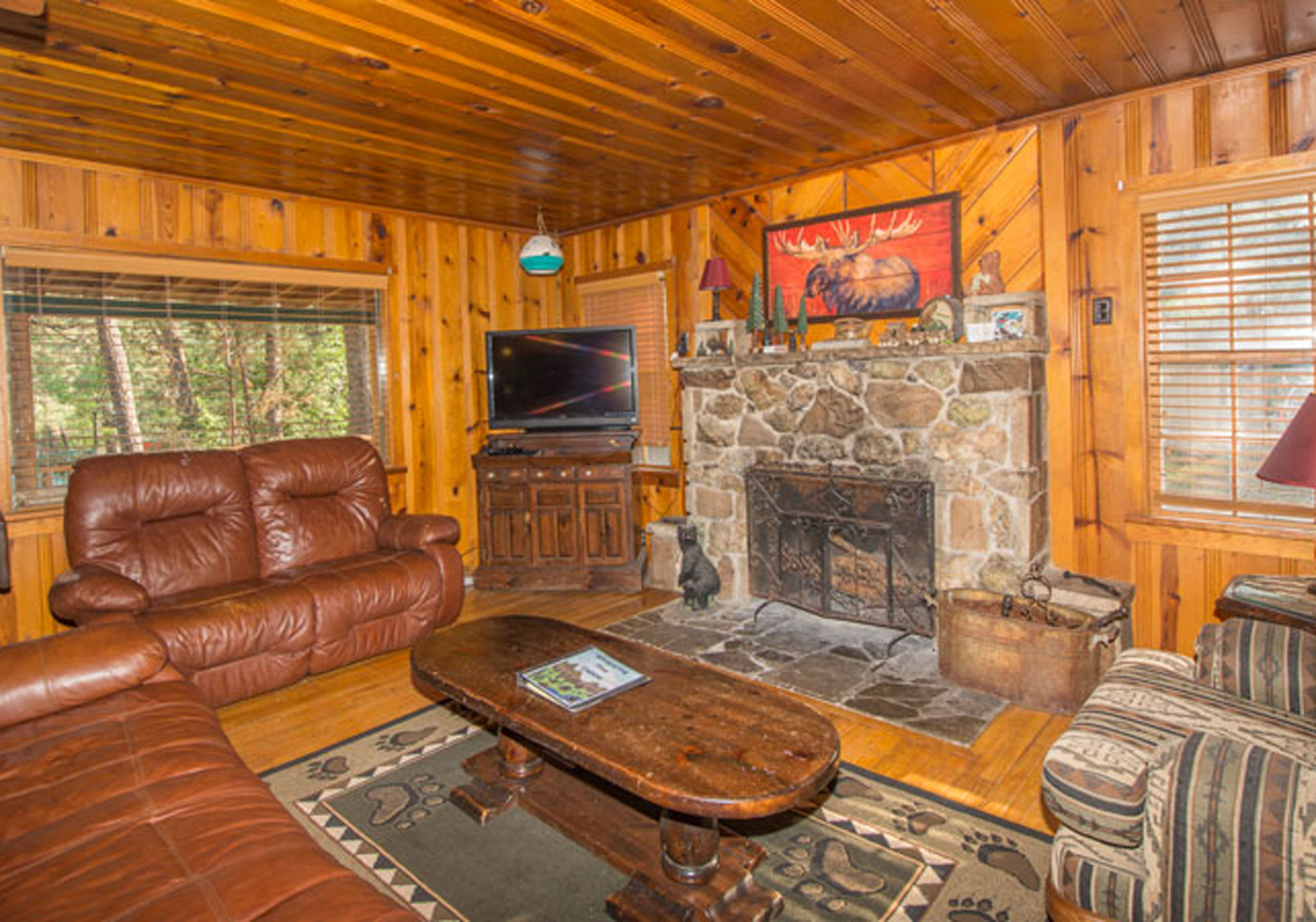 broken ok cabin room ruidoso pin at house rental bow cabins the lake living in